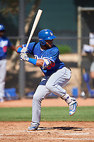 Los Angeles Dodgers Hendrik Clementina (86) during an Instructional League game against the Cleveland Indians on October 10, 2016 at the Camelback Ranch Complex in Glendale, Arizona.  (Mike Janes/Four Seam Images)