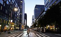 Nederland Amsterdam - September 2018 . De Zuidas. De Gustav Mahlerlaan. Foto Berlinda van Dam / Hollandse Hoogte
