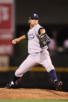 September 4, 2009:  Relief Pitcher Eric Wordekemper of the Scranton Wilkes-Barre Yankees during a game at Frontier Field in Rochester, NY.  Scranton is the Triple-A International League affiliate of the New York Yankees and clinched the North Division Title with a victory over Rochester.  Photo By Mike Janes/Four Seam Images