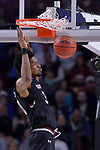 GREENVILLE, SC - MARCH 19: Chris Silva (30) of the University of South Carolina dunks the ball against Duke University during the 2017 NCAA Men's Basketball Tournament held at Bon Secours Wellness Arena on March 19, 2017 in Greenville, South Carolina. (Photo by Grant Halverson/NCAA Photos via Getty Images)