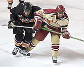 Kevin Westgarth, Mike Handza - The Princeton University Tigers defeated the University of Denver Pioneers 4-1 in their first game of the Denver Cup on Friday, December 30, 2005 at Magness Arena in Denver, CO.