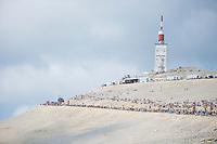 Mont Ventoux waiting for the riders<br /> <br /> Tour de France 2013<br /> stage 15: Givors to Mont Ventoux, 242,5km