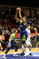 GRONINGEN - Basketbal, Donar - ZZ Leiden, Supersup, seizoen 2018-2019, 06-10-2018,  Leiden speler Maurice Watson Jr rebound