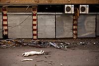 Syria, Deir az-Zor, 2013/03/20..Through the streets of embattled Deir az-Zor..Syrie, Deir ez-Zor, 20/03/2013.Dans les rues de assiégée Deir ez-Zor..Photo: Timo Vogt / Est&Ost Photography.