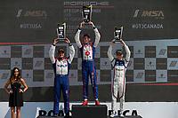 Race 2, GT3 USA, Platinum Podium, #79 Mark Motors Racing, Porsche 991 / 2019, GT3CP: Roman DeAngelis, #99 Kelly-Moss/AM Motorsports, Porsche 991 / 2019, GT3CP: Alan Metni (M), #7 Wright Motorsports, Porsche 991 / 2018, GT3P: Maxwell Root