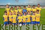 The Beaufort U13 team who qualified for the final of the Oaklands Daybreak sponsored Rose Shield tournament last Saturday at Healy park,Tralee.