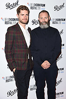 Lukas Dhont and Francis Lee<br /> arriving for the London Film Festival Awards, Vue Leicester Square, London<br /> <br /> ©Ash Knotek  D3452  20/10/2018