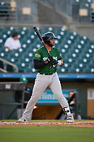 Daytona Tortugas designated hitter Hendrik Clementina (24) during a Florida State League game against the Palm Beach Cardinals on April 11, 2019 at Roger Dean Stadium in Jupiter, Florida.  Palm Beach defeated Daytona 6-0.  (Mike Janes/Four Seam Images)