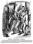 """Fagin's Political School. """"Now, mark this; because these are things which you may not have heard in any speech which has been made in the city of Edinburgh. (Laughter and cheers). I had - if it be not arrogant to use such a phrase - to educate our party. It is a large party, and requires its attention to be called to questions of this kind with some pressure. I had to prepare the mind of Parliament and the country on this question of Reform."""" - Mr Disraeli's Speech at the Edinburgh Banquet."""