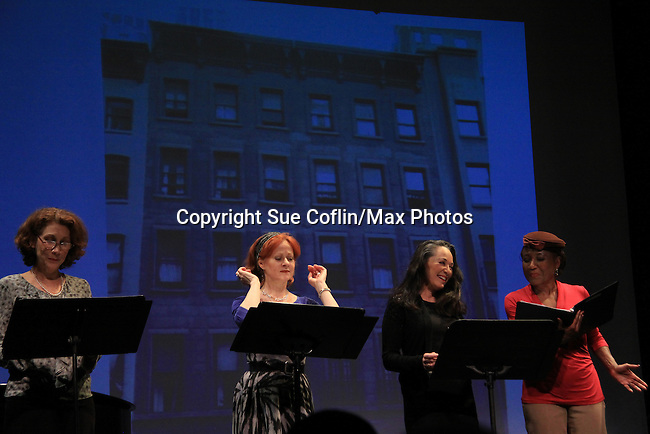 """Good Girls Only"" - the Rehearsal Club Musical - on March 13, 2013 at the Professional Children's School, New York City, New York. Cast: George Lee Andrews, Mary Lou Barber, Randy Graff, Jamey Grisham, Ernestine Jackson, Victoria Mallory (6 years on Y&R) and Jane Summerhayes. (Photo by Sue Coflin/Max Photos)  917-647-8403"