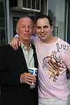"Jackie Martling (Host of Festival) & Kenneth Del Vecchio (Chairman Festival) attend the Filmmakers' Reception and Opening Night of the Hoboken International Film Festival - World Premiere Screening of ""An Affirmative Act"" - the first-ever courtroom drama about the legalization of Gay marriage on June 3, 2010 at the Cedar Lane Cinemas, Teaneck, New Jersey. (Photo by Sue Coflin/Max Photos)"