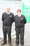 Adrian Cooney and Sarah Maher at the St.Johns Ambulance demonstration at Scotch Hall...Picture Jenny Matthews/Newsfile.ie