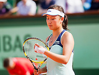 02-06-12, France, Paris, Tennis, Roland Garros, Shuai Pang