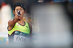 Natsumi Tomonaga (JPN), <br /> AUGUST 31, 2018 - Modern Pentathlon : <br /> Women's Individual Combined <br /> at APM Equestrian Center <br /> during the 2018 Jakarta Palembang Asian Games <br /> in Banten, Indonesia. <br /> (Photo by Naoki Morita/AFLO SPORT)