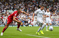 Leeds United's Pablo Hernandez gets past Nottingham Forest's Jack Robinson<br /> <br /> Photographer Alex Dodd/CameraSport<br /> <br /> The EFL Sky Bet Championship - Leeds United v Nottingham Forest - Saturday 10th August 2019 - Elland Road - Leeds<br /> <br /> World Copyright © 2019 CameraSport. All rights reserved. 43 Linden Ave. Countesthorpe. Leicester. England. LE8 5PG - Tel: +44 (0) 116 277 4147 - admin@camerasport.com - www.camerasport.com