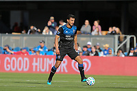 SAN JOSE, CA - FEBRUARY 29: Oswaldo Alanis #4 of the San Jose Earthquakes during a game between Toronto FC and San Jose Earthquakes at Earthquakes Stadium on February 29, 2020 in San Jose, California.
