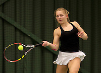 March 13, 2015, Netherlands, Rotterdam, TC Victoria, NOJK, Danique Baart (NED)<br /> Photo: Tennisimages/Henk Koster
