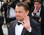 "72nd edition of the Cannes Film Festival in Cannes in Cannes, southern France on May 21, 2019. Red Carpet for the screening of the film ""Once Upon a Time... in Hollywood"" US actor Leonardo DiCaprio on the red carpet.<br /> © Pierre Teyssot / Maxppp"