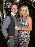 Aidan Townley and Cheryl O'Brien celebrating their engagement and Cheryl's 30th birthday in the Mariner. Photo:Colin Bell/pressphotos.ie