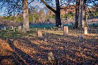 The Cherry Grove Cemetery near The Parker-Hickman Homestead along the Buffalo National River in Arkansas is listed on the National Register of Historic Places.<br /> The Parker-Hickman Homestead along the Buffalo National River in Arkansas is listed on the National Register of Historic Places. The Parker-Hickman Farm is the oldest existing homestead on the Buffalo River.