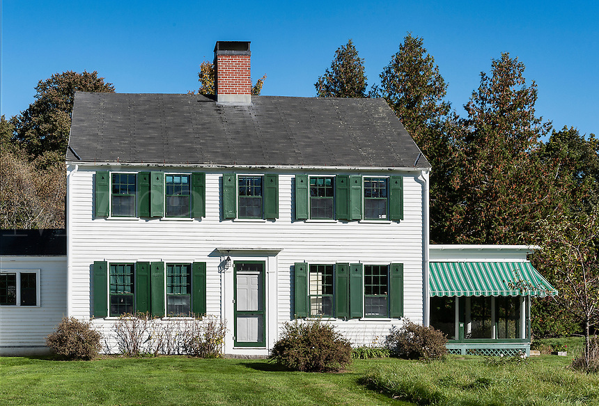 Charming New England house, Sommesville, Maine, USA