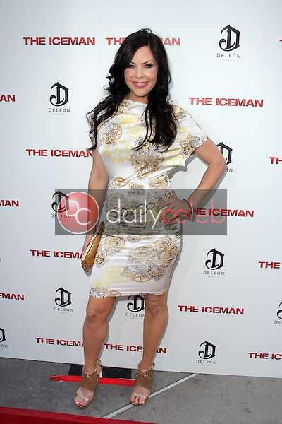 """Christa Campbell<br /> at """"The Iceman"""" Red Carpet, Arclight Theater, Hollywood, CA 04-22-13<br /> David Edwards/DailyCeleb.Com 818-249-4998"""