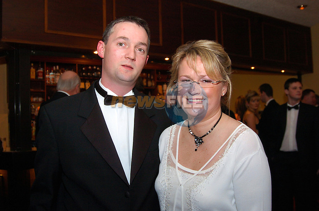 david and Fleur McCloskey at the Sport Star of the Year awards in the Boyne Valley Hotel...Photo Fran Caffrey Newsfile.ie..This Picture has been sent to you by Newsfile Ltd..The Studio,.Millmount Abbey,.Drogheda,.Co. Meath,.Ireland..Tel: +353(0)41-9871240.Fax: +353(0)41-9871260.ISDN: +353(0)41-9871010.www.newsfile.ie..general email: pictures@newsfile.ie