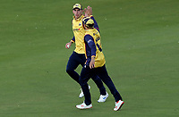 Daniel Lawrence of Essex celebrates taking the catch of Steven Croft during Lancashire Lightning vs Essex Eagles, Vitality Blast T20 Cricket at the Emirates Riverside on 4th September 2019