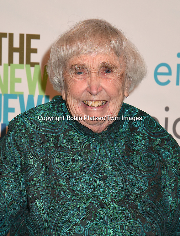 Honoree Elizabeth McCormack attends The New Jewish Home Gala Honoring 8 Over 80 on March 12, 2018 at the Ziegfeld Ballroom in New York, New York, USA.<br /> <br /> photo by Robin Platzer/Twin Images<br />  <br /> phone number 212-935-0770