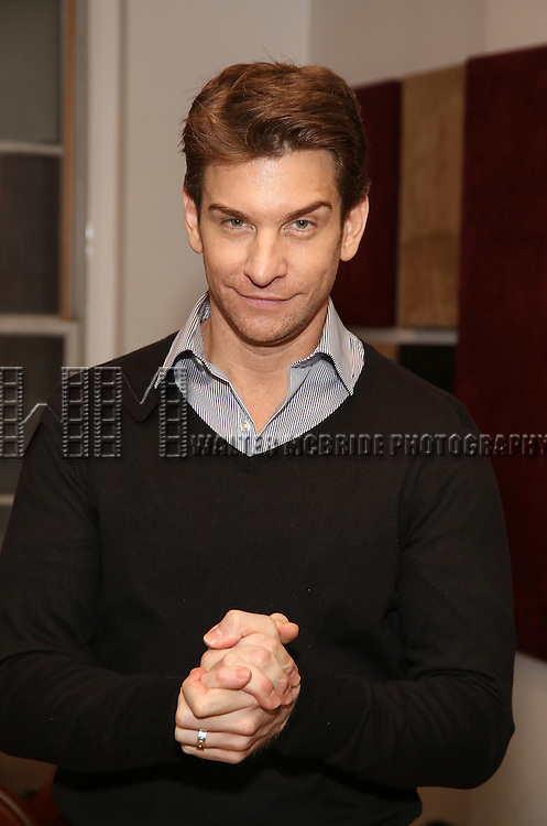 Andy Karl in Rehearsal for 'Chita: Nowadays'  at Michiko Studio on October 27, 2016 in New York City.