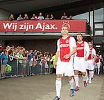 Nederland, Amsterdam, 27 juni 2012.Seizoen 2012/2013.Eerste Training Ajax 2012.
