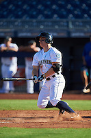 Peoria Javelinas Tyler O'Neill (11), of the Seattle Mariners organization, during a game against the Surprise Saguaros on October 12, 2016 at Peoria Stadium in Peoria, Arizona.  The game ended in a 7-7 tie after eleven innings.  (Mike Janes/Four Seam Images)