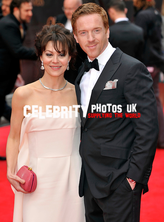 Helen McCrory; Damien Lewis attends The Laurence Olivier Awards at the Royal Opera House on April 28, 2013 in London Picture By: Brian Jordan / Retna Pictures.. ..-..