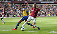 West Ham United's Marko Arnautovic and Southampton's Mario Lemina<br /> <br /> Photographer Rob Newell/CameraSport<br /> <br /> The Premier League - West Ham United v Southampton - Saturday 4th May 2019 - London Stadium - London<br /> <br /> World Copyright © 2019 CameraSport. All rights reserved. 43 Linden Ave. Countesthorpe. Leicester. England. LE8 5PG - Tel: +44 (0) 116 277 4147 - admin@camerasport.com - www.camerasport.com