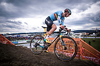 Yentl Beckaert (BEL)<br /> <br /> Men's U23 race<br /> UCI 2020 Cyclocross World Championships<br /> Dübendorf / Switzerland<br /> <br /> ©kramon