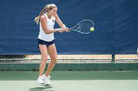 Berkeley, CA - Friday, April 14, 2017: The Cal women's tennis team defeated Washington 7-0 at Hellman Tennis Complex.