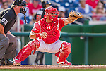 19 September 2015: Washington Nationals catcher \was40\ in action against the Miami Marlins at Nationals Park in Washington, DC. The Nationals defeated the Marlins 5-2 in the third game of their 4-game series. Mandatory Credit: Ed Wolfstein Photo *** RAW (NEF) Image File Available ***