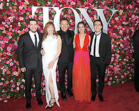 NEW YORK, NY - JUNE 10: Bruce Springsteen, Patti Scialfa and Family attend the 72nd Annual Tony Awards at Radio City Music Hall on June 10, 2018 in New York City.  <br /> CAP/MPI/JP<br /> &copy;JP/MPI/Capital Pictures