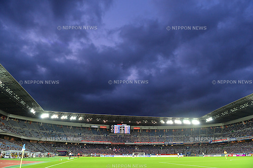 Nissan Stadium,<br /> JULY 23, 2016 - Football / Soccer :<br /> A general view inside of Nissan Stadium during the 2016 J1 League 2nd stage match between Yokohama F Marinos 1-1 Jubilo Iwata in Kanagawa, Japan. (Photo by AFLO)