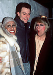 Darlene Love, Patrick Cassidy, and Ellie Greenwich in New York City in 1985.