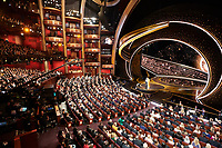 James Corden and Rebel Wilson present the Oscar® for Visual Effects during the live ABC Telecast of The 92nd Oscars® at the Dolby® Theatre in Hollywood, CA on Sunday, February 9, 2020.<br /> *Editorial Use Only*<br /> CAP/AMPAS<br /> Supplied by Capital Pictures