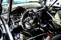 13th February 2020, Torsby base and Karlstad, Värmland County, Sweden; WRC Rally of Sweden, Shakedown event;  FORD steering wheel and controls