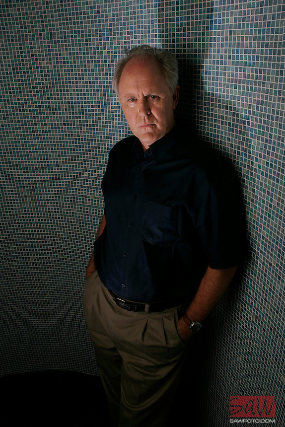 LOS ANGELES,CA - AUGUST 19,2009: Actor John Lithgow has been a character actor and a leading man both on television, in movies and on the stage. And now he's joining Dexter in its fourth season to play a very creepy serial killer. Photographed on the Dexter set in Long Beach, August 26, 2009.