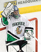Jordan Parise - The University of Minnesota Golden Gophers defeated the University of North Dakota Fighting Sioux 4-3 on Friday, December 9, 2005, at Ralph Engelstad Arena in Grand Forks, North Dakota.