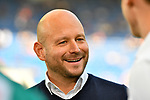 07.10.2018, wirsol Rhein-Neckar-Arena, Sinsheim, GER, 1 FBL, TSG 1899 Hoffenheim vs Eintracht Frankfurt, <br /> <br /> DFL REGULATIONS PROHIBIT ANY USE OF PHOTOGRAPHS AS IMAGE SEQUENCES AND/OR QUASI-VIDEO.<br /> <br /> im Bild: Alexander Rosen (Direktor Profifussball TSG Hoffenheim)<br /> <br /> Foto &copy; nordphoto / Fabisch
