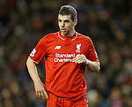 Jon Flanagan of Liverpool - English Premier League - Liverpool vs Manchester City - Anfield Stadium - Liverpool - England - 3rd March 2016 - Picture Simon Bellis/Sportimage