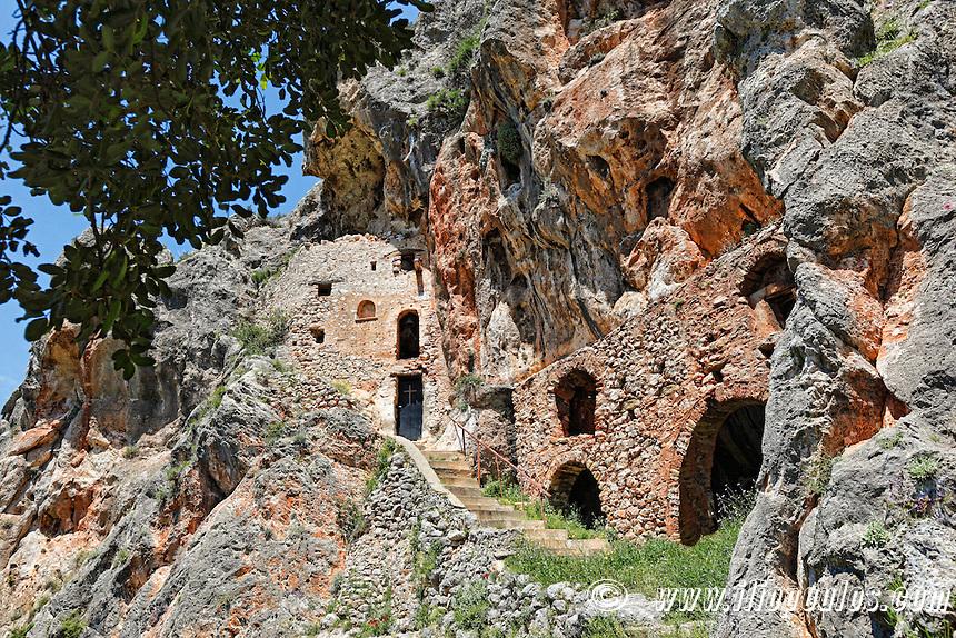 Vrontama Monastery in Laconia Peloponnese, Greece.