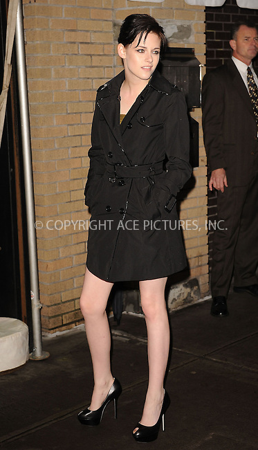 WWW.ACEPIXS.COM . . . . . ....November 19 2009, New York City....Actress Kristen Stewart arriving at The Cinema Society and D&G screening of THE TWILIGHT SAGA: NEW MOON at Landmark's Sunshine Cinema on November 19, 2009 in New York City.....Please byline: KRISTIN CALLAHAN - ACEPIXS.COM.. . . . . . ..Ace Pictures, Inc:  ..(212) 243-8787 or (646) 679 0430..e-mail: picturedesk@acepixs.com..web: http://www.acepixs.com