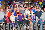NIFTY FIFTY: Francie O'Shea, Casement's Avenue, Tralee (seated centre) had a cracking time celebrating his 50th birthday last Saturday night in the Greyhound bar, Pembroke St, Tralee with many friends and family.