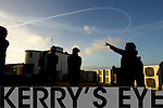 A Jet circled Kerry on Wednesday